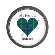 Heart - Johnston Wall Clock