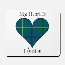 Heart - Johnston Mousepad