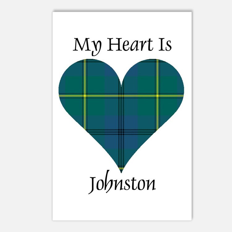 Heart - Johnston Postcards (Package of 8)
