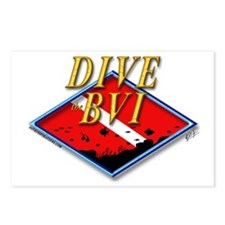 Dive BVI Postcards (Package of 8)
