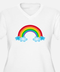 Rainbow & Clouds T-Shirt