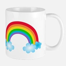 Rainbow & Clouds Mug