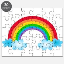 Rainbow & Clouds Puzzle