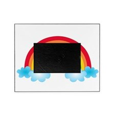 Rainbow & Clouds Picture Frame