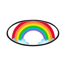 Rainbow & Clouds Patches