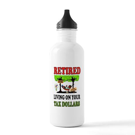 RETIRED WELFARE Water Bottle