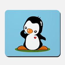 Cute Penguin Popo (!) Mousepad