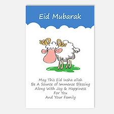 Funny Eid mubarak Postcards (Package of 8)