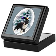 Spanish Water Dog Keepsake Box