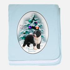 Spanish Water Dog baby blanket
