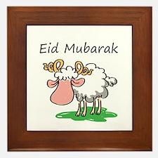 Cute Eid Framed Tile