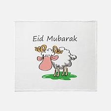 Unique Eid Throw Blanket