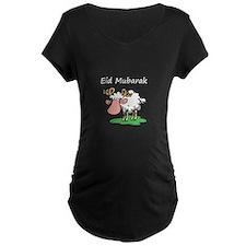 Eid Mubarak Maternity T-Shirt