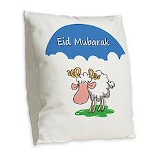 Ramadan Burlap Throw Pillow