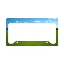 Golf Hole License Plate Holder