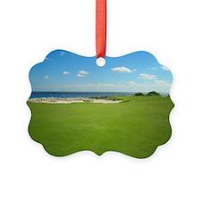 Golf Hole Ornament