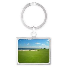 Golf Hole Landscape Keychain