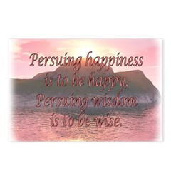 Persuing Happiness - Island S Postcards (Package o