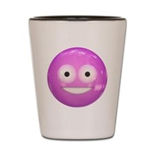 Candy Smiley - Pink Shot Glass