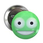 Candy Smiley - Green 2.25