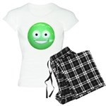 Candy Smiley - Green Women's Light Pajamas