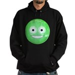 Candy Smiley - Green Hoodie (dark)