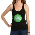 Candy Smiley - Green Racerback Tank Top