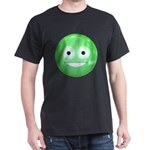 Candy Smiley - Green Dark T-Shirt