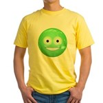 Candy Smiley - Green Yellow T-Shirt