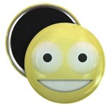 Candy Smiley - Yellow 2.25