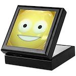Candy Smiley - Yellow Keepsake Box