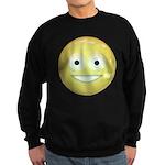 Candy Smiley - Yellow Sweatshirt (dark)