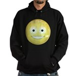 Candy Smiley - Yellow Hoodie (dark)