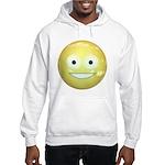 Candy Smiley - Yellow Hooded Sweatshirt