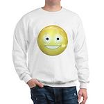 Candy Smiley - Yellow Sweatshirt