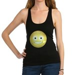 Candy Smiley - Yellow Racerback Tank Top
