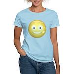 Candy Smiley - Yellow Women's Light T-Shirt