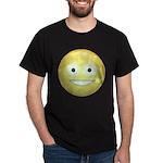 Candy Smiley - Yellow Dark T-Shirt