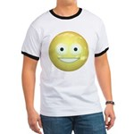 Candy Smiley - Yellow Ringer T