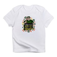 Man in Apron green Chili Cookoff Graphic Infant T-