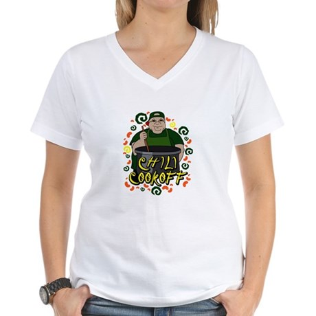 Man in Apron green Chili Cookoff Graphic T-Shirt