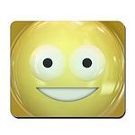 Candy Smiley - Yellow Mousepad