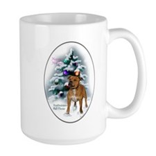 Staffordshire Terrier Christmas Mug