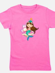 Princess Mermaid Girl's Tee