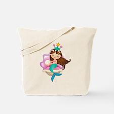 Princess Mermaid Tote Bag