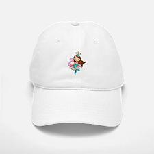 Princess Mermaid Baseball Baseball Cap
