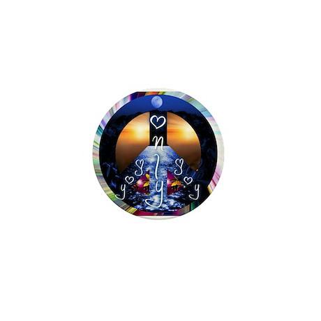 Only Joy - Peace Mini Button