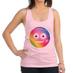 Candy Smiley - Rainbow Racerback Tank Top