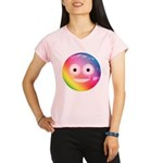 Candy Smiley - Rainbow Performance Dry T-Shirt