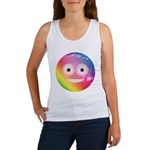 Candy Smiley - Rainbow Women's Tank Top
